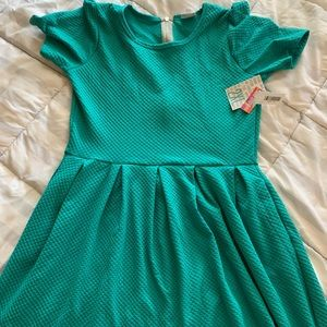 LuLaRoe 2XL Amelia - mint / light teal